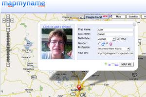 Mapmyname